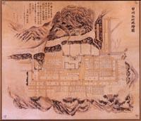 創業当時のご案内地図